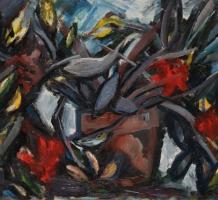 GADÁNYI Jenő – Kaktuszos csendélet & Kompozíció