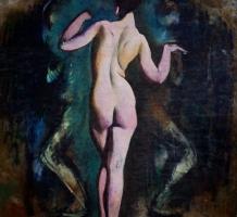 JÁRITZ Józsa – Táncoló női akt