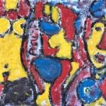Miklos NÉMETH - Nudes | 70x100cm | oil on canvas |