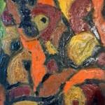 Miklós NÉMETH - Nudes | oil on woodboard | 50x34cm |