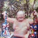 Miklós NÉMETH - Clowns in hand | vintage photo | 39x27cm |