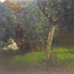 Piknik a gyümölcsösben