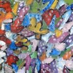 Miklós NÉMETH - Garden of Eden | 1960s | o-c | ~110x140cm |