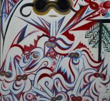 BADA DADA Tibor – Hóbagoly tivornyája fehér egerekkel