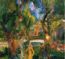 PAIZS GOEBEL Jenő – Szentendrei kertben
