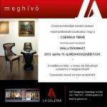 CSERNUS Tibor kiállításunk április 13. – ig MEGHOSSZABBÍTVA!!!
