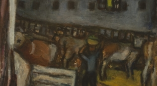 CZÓBEL Béla – Este a majorban 1910-es évek