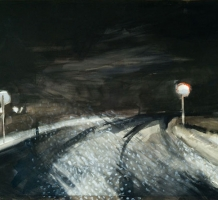 SZÜTS Miklós – Éjszakai havazás